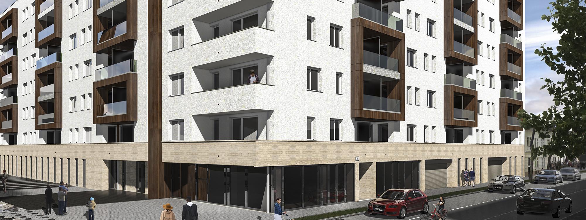 13.ker Angyalföldön új építésű lakóparki lakások eladók