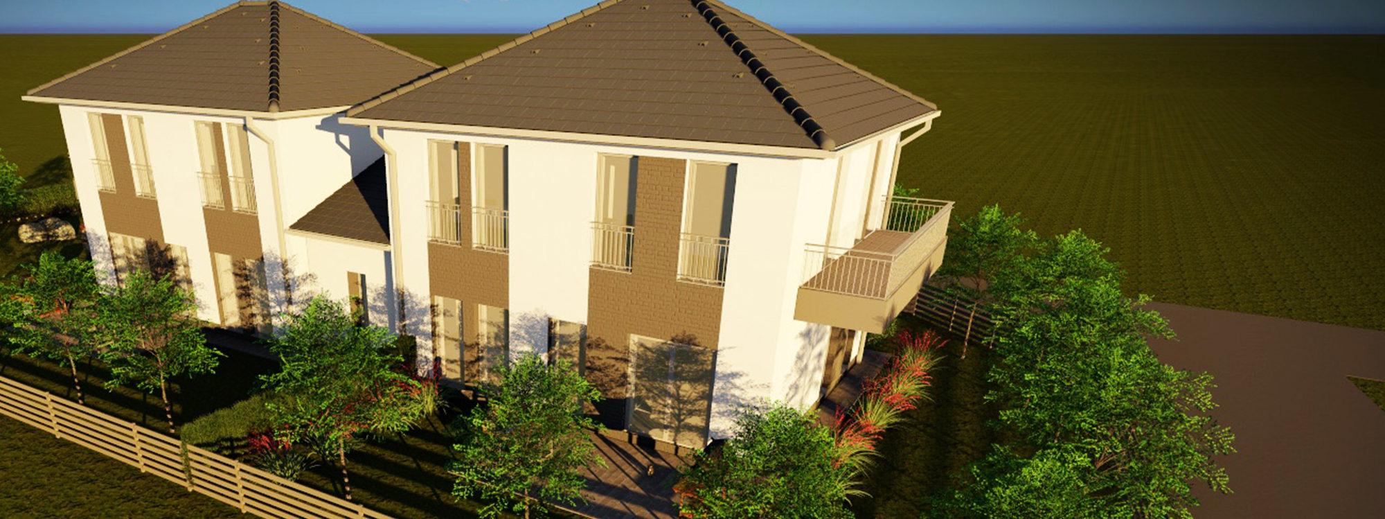 XVII. ker Rákoscsaba új építésű eladó ikerház